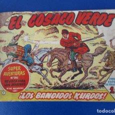 Tebeos: EL COSACO VERDE. TOMO DEL Nº 1 AL 50. CUADERNOS ORIGINALES.. Lote 87621164