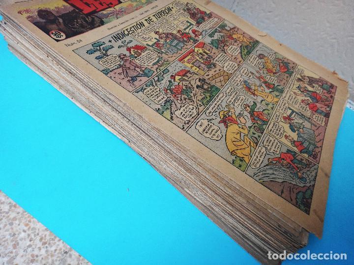 LOTE DE 98 EJEMPLARES, LEYENDAS INFANTILES , DEL 85 AL 182 , HISPANO AMERICANA , ORIGINALES (Tebeos y Comics - Tebeos Colecciones y Lotes Avanzados)