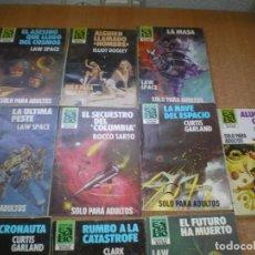 BDs: LOTE DE 10 NOVELAS DE HEROES DEL ESPACIO. Lote 88334672