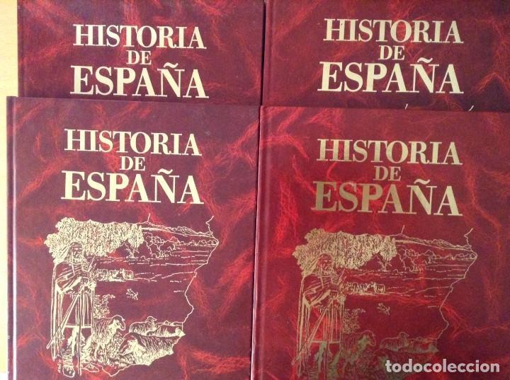 HISTORIA DE ESPAÑA. TOMOS 7, 8, 9 Y 10 (EDITORIAL ROASA) (Tebeos y Comics - Tebeos Colecciones y Lotes Avanzados)