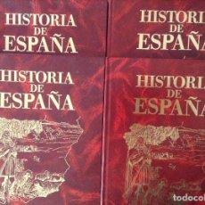 Giornalini: HISTORIA DE ESPAÑA. TOMOS 7, 8, 9 Y 10 (EDITORIAL ROASA). Lote 89484260