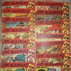 Tebeos: JIM ALEGRIAS (MAGA) (LOTE DE 13 NUMEROS). Lote 89793060