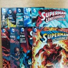Tebeos: SUPERMAN UNCHAINED COLECCION COMPLETA (9 NUMEROS). Lote 90096468
