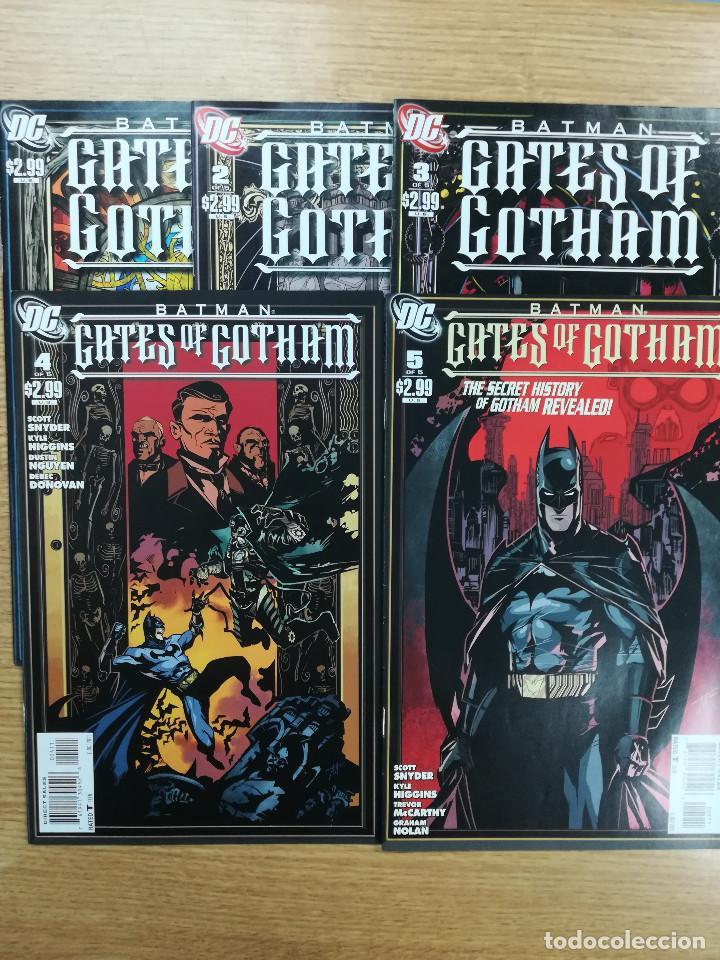 BATMAN GATES OF GOTHAM COLECCION COMPLETA (5 NUMEROS) (Tebeos y Comics - Tebeos Pequeños Lotes de Conjunto)