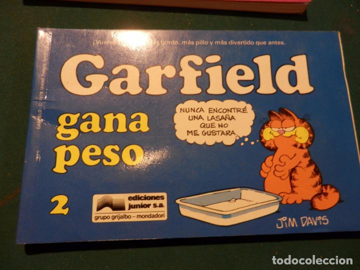 Tebeos: GARFIELD - LOTE DE 6 COMICS DE JIM DAVIS - Nº 1 + 2 + 4 + 5 + AQUÍ LLEGA GARFIELD - Foto 3 - 90269708