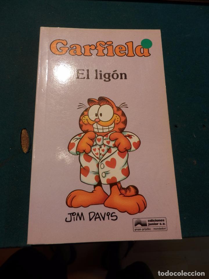 Tebeos: GARFIELD - LOTE DE 6 COMICS DE JIM DAVIS - Nº 1 + 2 + 4 + 5 + AQUÍ LLEGA GARFIELD - Foto 7 - 90269708