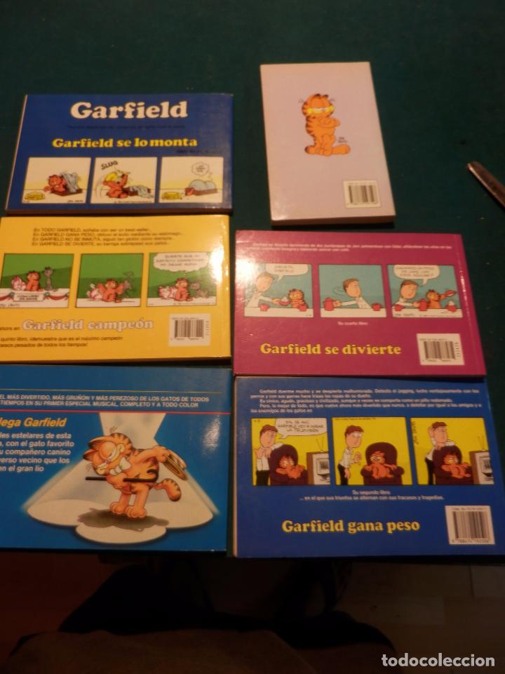 Tebeos: GARFIELD - LOTE DE 6 COMICS DE JIM DAVIS - Nº 1 + 2 + 4 + 5 + AQUÍ LLEGA GARFIELD - Foto 11 - 90269708