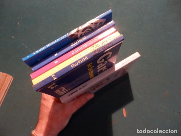 Tebeos: GARFIELD - LOTE DE 6 COMICS DE JIM DAVIS - Nº 1 + 2 + 4 + 5 + AQUÍ LLEGA GARFIELD - Foto 12 - 90269708