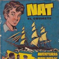 Tebeos: LOTE DE 36 COMICS FALTA Nº 5 NAT EL GRUMETE HISPANO AMERICANA . Lote 90437779
