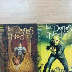 Tebeos: LOS DONES DE LA NOCHE COLECCION COMPLETA (2 TOMOS). Lote 90826475