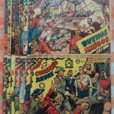 Tebeos: CORSARIO AUDAZ COMPLETA (RICART 1963) 15 TEBEOS.. Lote 90829040