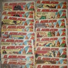 Tebeos: EL AGUILUCHO (MAGA) (LOTE DE 25 NUMEROS DIFERENTES). Lote 91436530