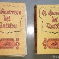 Tebeos: COMIC EL GUERRERO DEL ANTIFAZ - LOTE DE 11 TOMOS: DEL 1 AL 11; EDITORIAL VALENCIANA, AÑO 1973. Lote 91509535