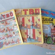 Tebeos: LOTE 2 TBO AÑOS 79-80 Y GENTE MENUDA Nº 140 JULIO 1992. Lote 91856865