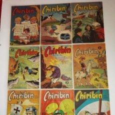 Tebeos: CHIRIBIN LOTE 10 EJEMPLARES (1/2). Lote 92248085