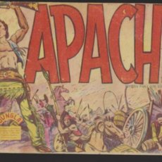 Tebeos: APACHE 1ª PARTE. MAGA 1959. COLECCIÓN COMPLETA 56 EJEMPLARES.. Lote 35349066
