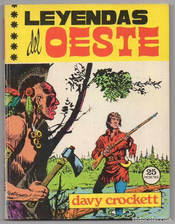 Tebeos: LEYENDAS DEL OESTE ¡¡COMPLETA!! (Euredit 1970) 5 novelas en bastante buen estado. - Foto 2 - 93318350