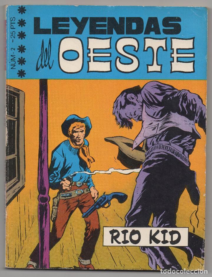 Tebeos: LEYENDAS DEL OESTE ¡¡COMPLETA!! (Euredit 1970) 5 novelas en bastante buen estado. - Foto 4 - 93318350