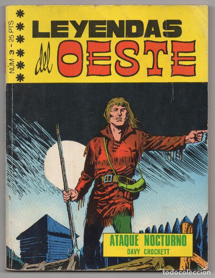 Tebeos: LEYENDAS DEL OESTE ¡¡COMPLETA!! (Euredit 1970) 5 novelas en bastante buen estado. - Foto 6 - 93318350