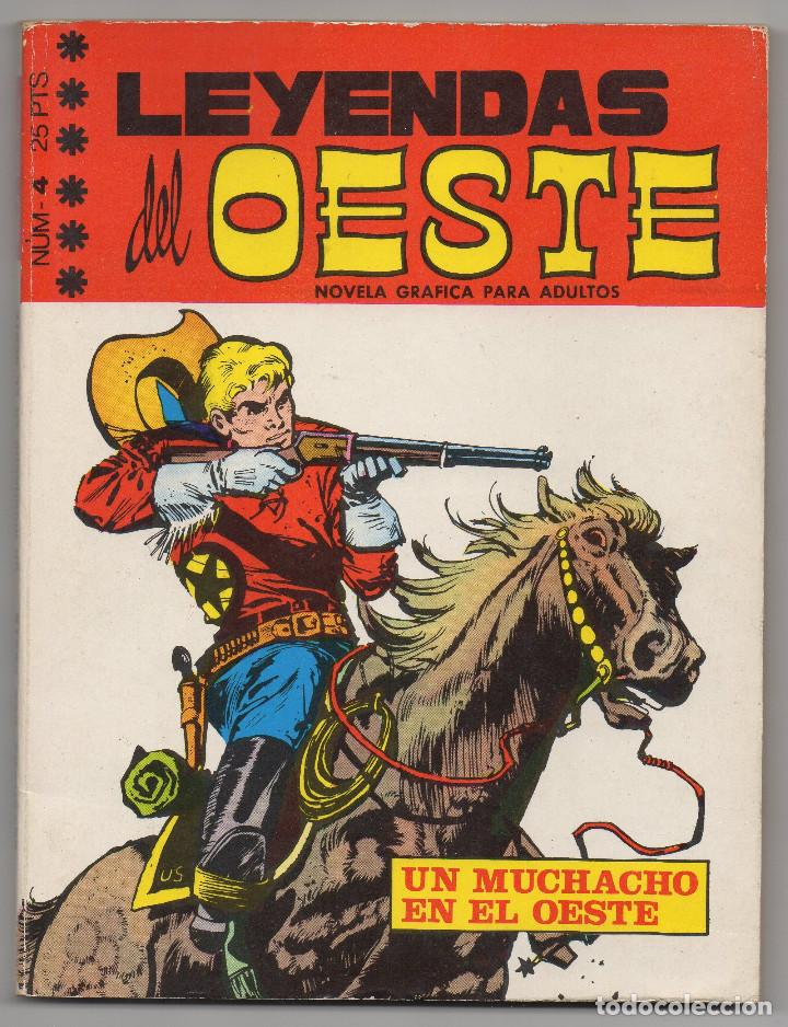 Tebeos: LEYENDAS DEL OESTE ¡¡COMPLETA!! (Euredit 1970) 5 novelas en bastante buen estado. - Foto 9 - 93318350