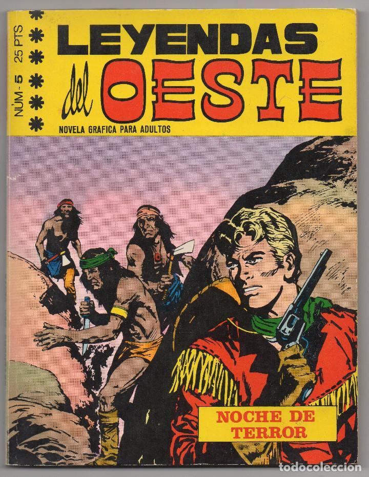 Tebeos: LEYENDAS DEL OESTE ¡¡COMPLETA!! (Euredit 1970) 5 novelas en bastante buen estado. - Foto 12 - 93318350