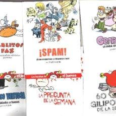 Giornalini: LOTE DE 6 CUADERNOS LOS INÉDITOS DE EL JUEVES. Lote 93793990