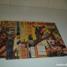 Tebeos: EL TEMERARIO, AÑO 1.947. LOTE DE 12. TEBEOS ORIGINALES. DIBUJANTE M. GAGO. EDITORIAL VALENCIANA.. Lote 91032920