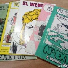 Tebeos: LOTE - 6 REVISTAS WENDIGO - NUMEROS 10, 12 , 39, 35/36, 38 Y 42. Lote 94119270