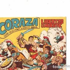Tebeos: CORAZA, AÑO 1.962. LOTE DE 31. TEBEOS ORIGINALES EDITORIAL MAGA. SE VENDEN SUELTOS.. Lote 94710483