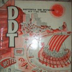 Livros de Banda Desenhada: DDT (2º EPOCA) EXTRA DE VERANO (TAMAÑO GRANDE). Lote 95005691