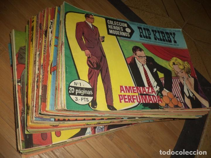 HÉROES MODERNOS SERIE C,ORIGINALES 1963.ED.DOLAR CASI COMPLETA,64,NÚMEROS DE 75.BIEN CONSERVADOS. (Tebeos y Comics - Tebeos Colecciones y Lotes Avanzados)