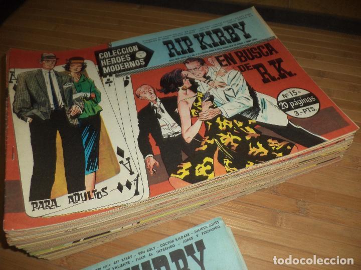 Tebeos: Héroes Modernos Serie C,originales 1963.Ed.Dolar Casi completa,64,números de 75.Bien conservados. - Foto 2 - 95309239