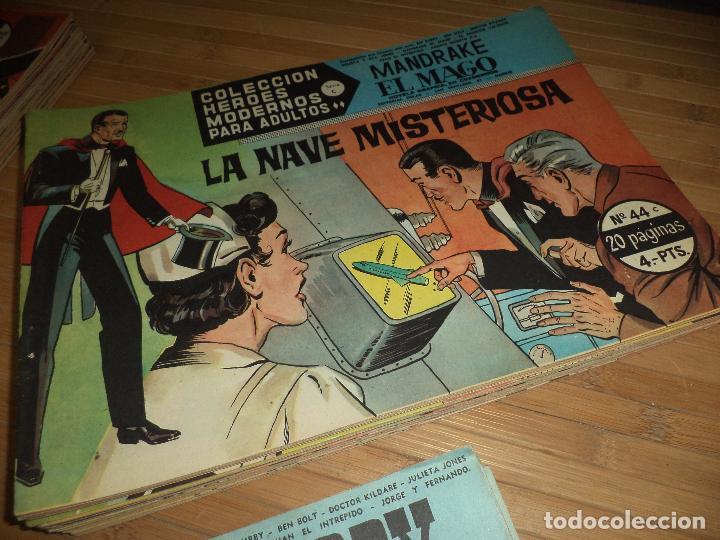 Tebeos: Héroes Modernos Serie C,originales 1963.Ed.Dolar Casi completa,64,números de 75.Bien conservados. - Foto 3 - 95309239
