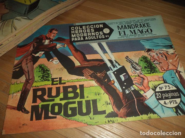 Tebeos: Héroes Modernos Serie C,originales 1963.Ed.Dolar Casi completa,64,números de 75.Bien conservados. - Foto 4 - 95309239