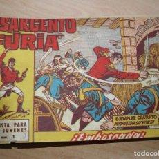 Tebeos: EL SARGENTO FURIA - COLECCIÓN COMPLETA - 36 NÚMEROS - ORIGINAL - BRUGUERA. Lote 95388283