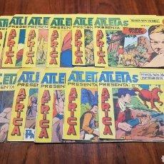 Tebeos: ATLETAS AFRICA MUY BUEN ESTADO MAGA ORIGINAL. Lote 95419982