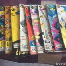 Tebeos: LOTE DE 11 COMICS DE EDICIÓNES ZINCO. Lote 95765806
