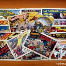 Tebeos: ALBUMES PREFERIDOS PARA LA JUVENTUD - HISPANO AMERICANA 1942 - 19 EJEMPLARES -COMPLETA, VER FOTOS. Lote 96159891