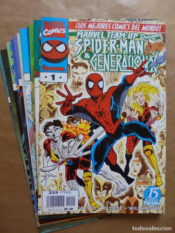 Tebeos: Marvel Team-up presenta - 1 a 11 completa - Forum - Perfecto estado - JMV - Foto 1 - 96534883