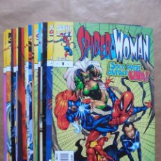 Tebeos: SPIDER-WOMAN 1 A 18 COMPLETA - FORUM - PERFECTO ESTADO - JMV. Lote 96535807