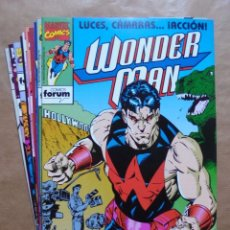 Tebeos: WONDER MAN 1 A 12 COMPLETA - FORUM - PERFECTO ESTADO - JMV. Lote 96778275