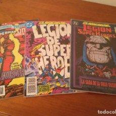 Tebeos: COMIC DC ZINCO CLASICOS DC LEGION SUPERHEROES 18, 19, 20, 21 Y 22 COMPLETA ENTREGO EN MANO EN MADRID. Lote 98749783