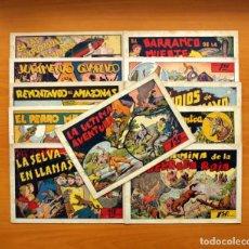 Tebeos: JUAN Y LUIS - COLECCIÓN COMPLETA, 11 CUADERNOS - EDITORIAL HISPANO AMERICANA 1942. Lote 98940351