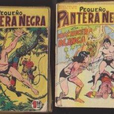 Tebeos: PEQUEÑO PANTERA NEGRA DE BOLSILLO. COMPLETA 70 EJEMPLARES. MAGA 1958.. Lote 98974971