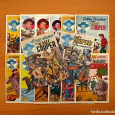 Tebeos: GARY COOPER - COLECCIÓN COMPLETA 14 CUADERNOS - EDITORIAL JOVI 1950. Lote 99071575