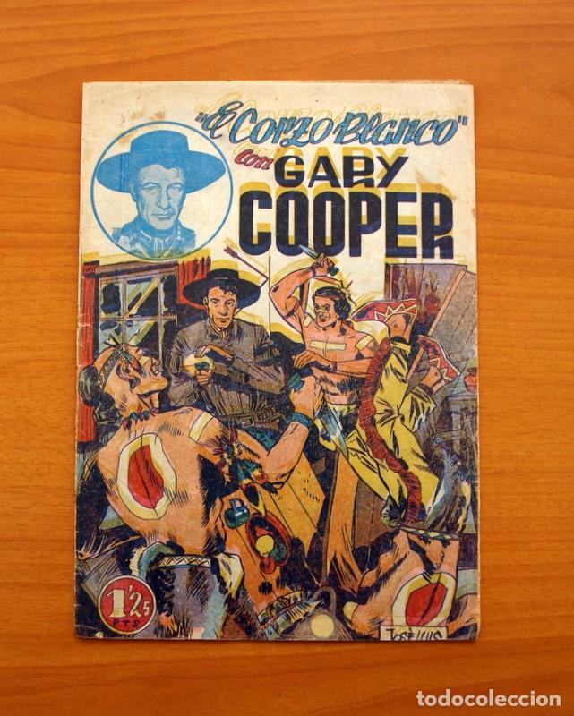 Tebeos: Gary Cooper - Colección Completa 14 cuadernos - Editorial JOVI 1950 - Foto 2 - 99071575