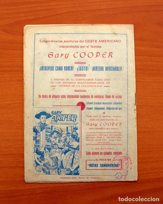 Tebeos: Gary Cooper - Colección Completa 14 cuadernos - Editorial JOVI 1950 - Foto 3 - 99071575