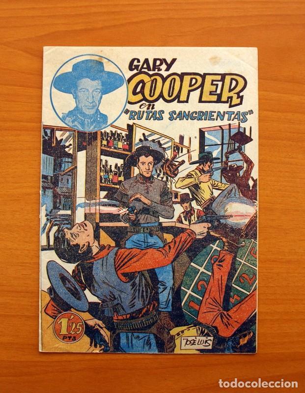 Tebeos: Gary Cooper - Colección Completa 14 cuadernos - Editorial JOVI 1950 - Foto 4 - 99071575