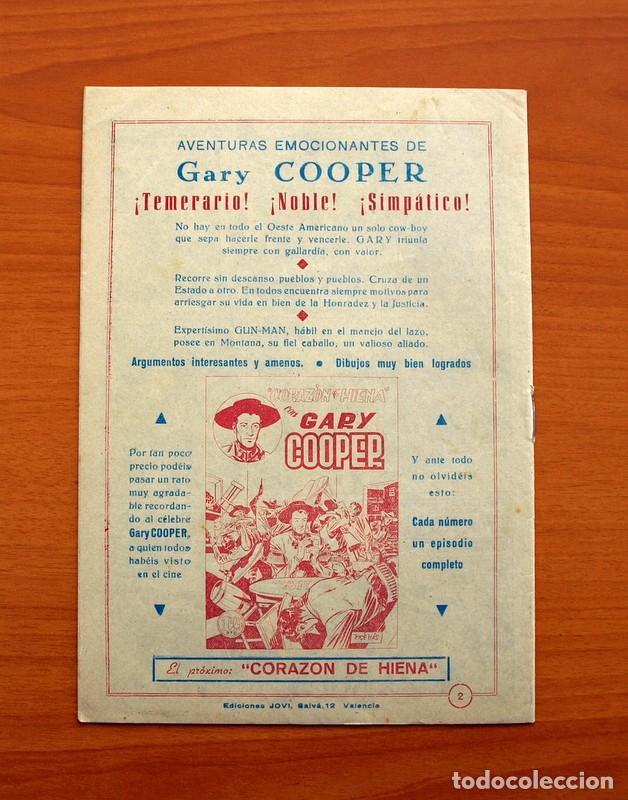 Tebeos: Gary Cooper - Colección Completa 14 cuadernos - Editorial JOVI 1950 - Foto 5 - 99071575