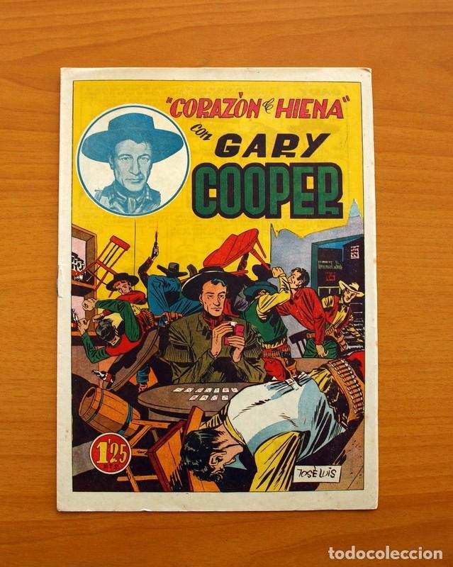 Tebeos: Gary Cooper - Colección Completa 14 cuadernos - Editorial JOVI 1950 - Foto 6 - 99071575